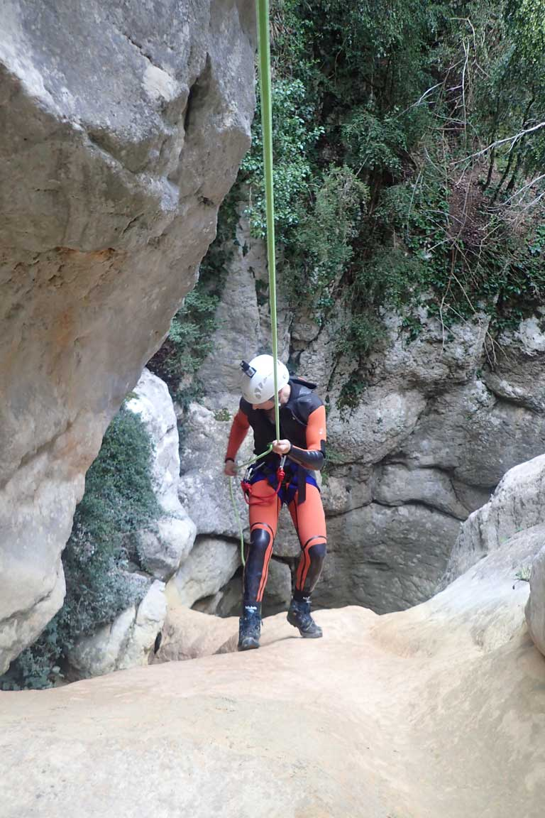 barranquisme a l'Alt Urgell, barranc de Gavarra