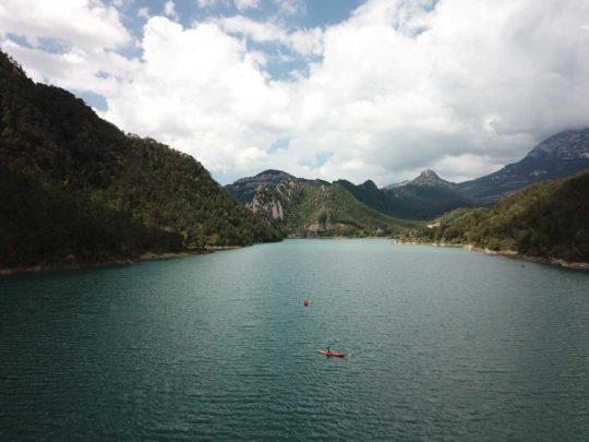 Lloguer de kayaks individuals a la Llosa del Cavall