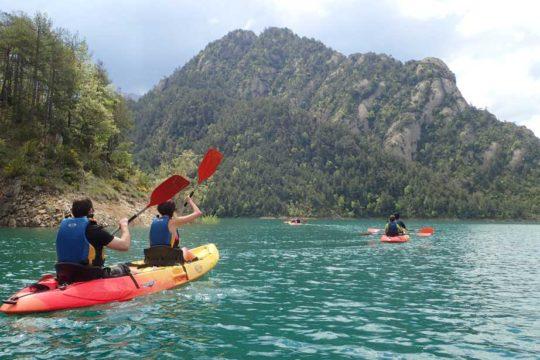 Lloguer de Kayak Doble a la LLosa del Cavall