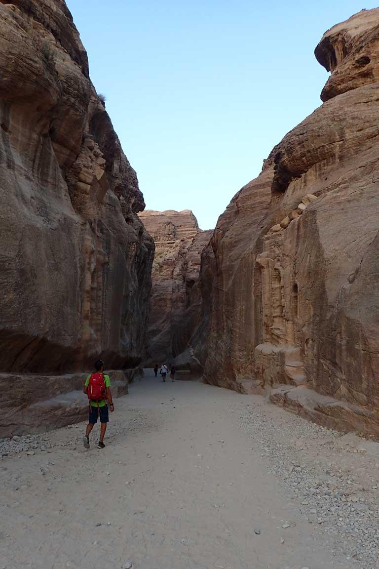 El Siq de Petra