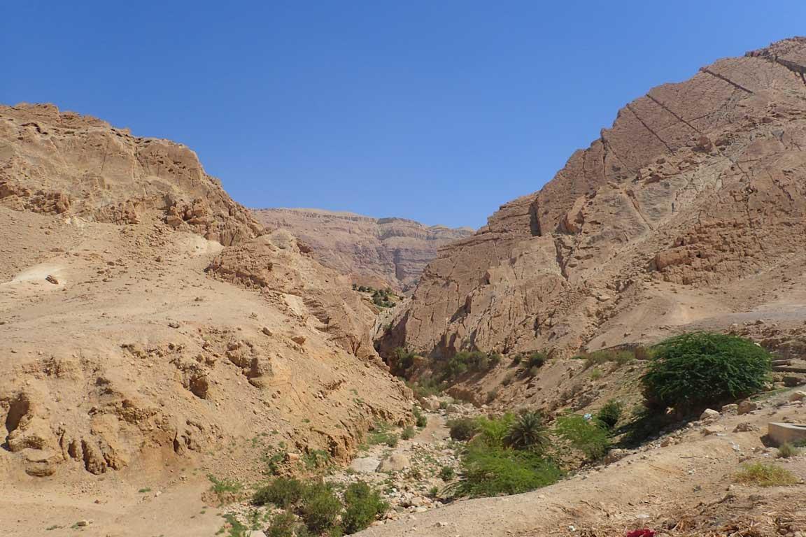 L'entrada al Wadi és clara