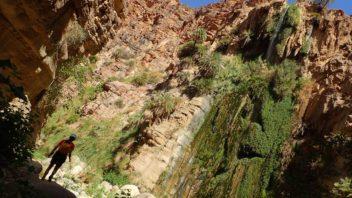 La gran cascada, segurament és un dels racons més bonics del Wadi Karak