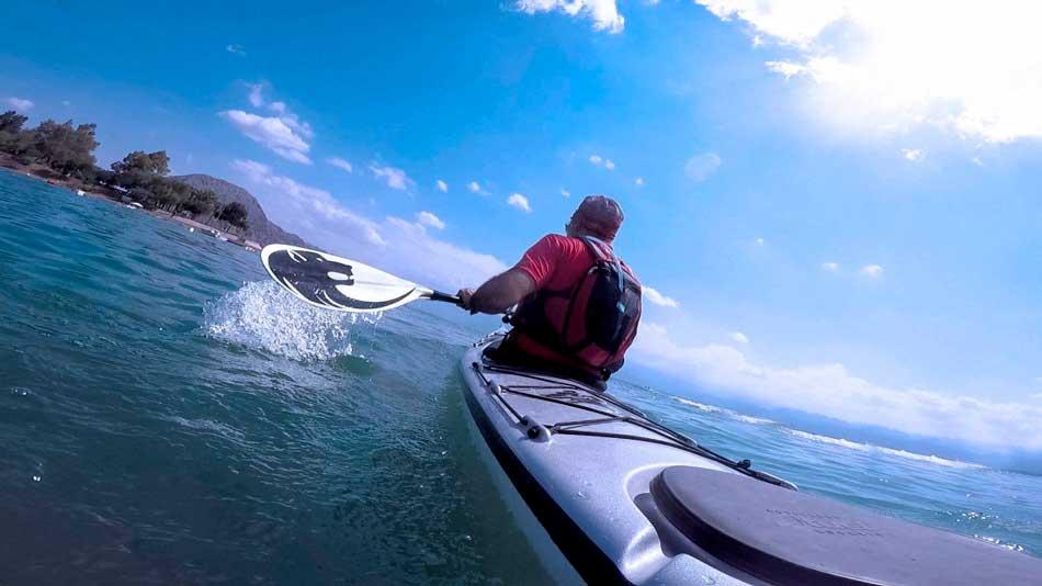 activitat kayak de mar