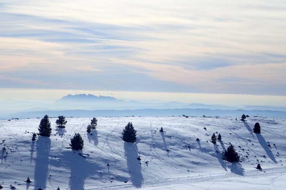 excursió raquetes de neu amb nens a Port del Comte