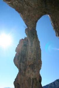 arc del pont de roca de l'afrau
