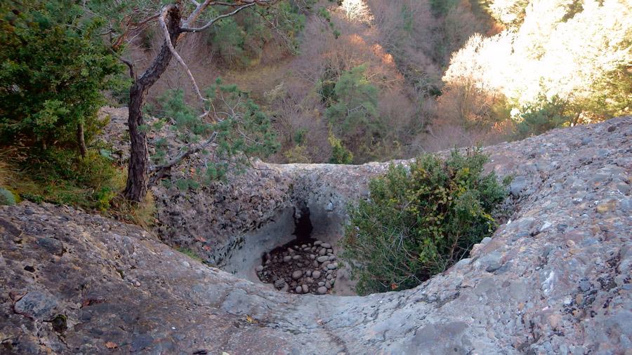 descens de grans verticals al berguedà