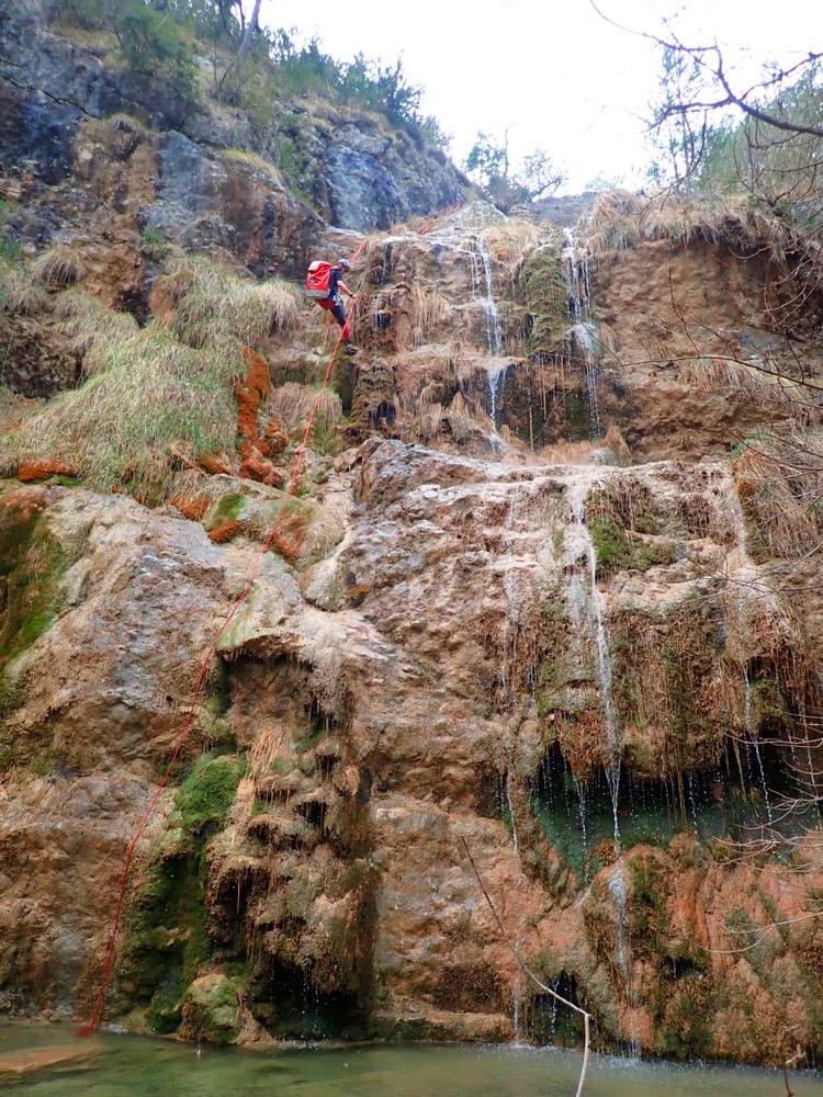 barranquisme valls del Pedraforca
