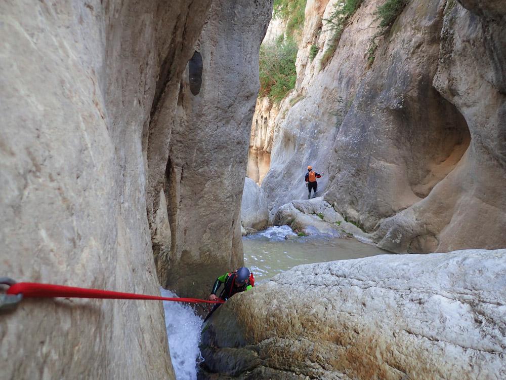 barranquisme a la vall del Pedraforca