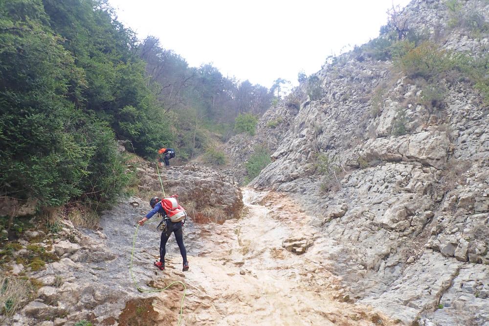 iniciació descens de barrancs Berguedà