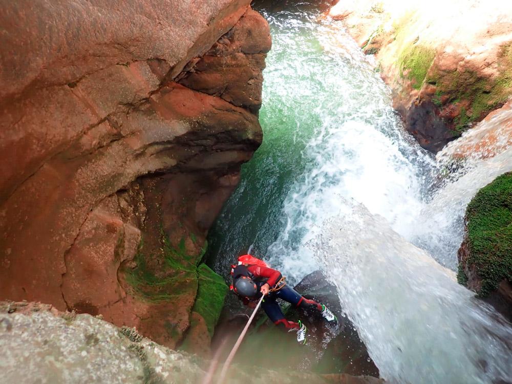 barranquisme aigües vives al Berguedà