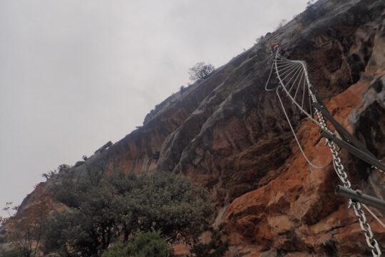 via ferrata roca Narieda Figols i Alinyà