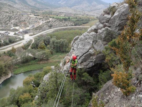 pont tibetà ferrada roca narieda Fígols i Alinyà