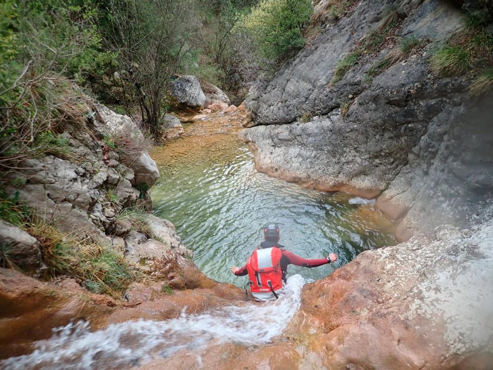 trekking aquàtic al Berguedà