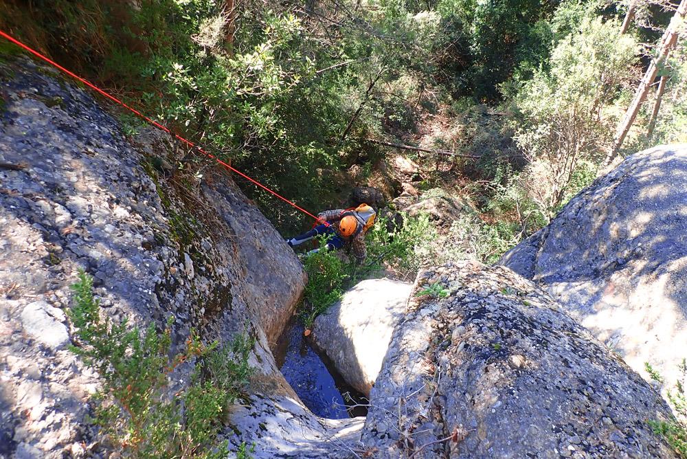 torrent de Vall Sadolla barranquisme al Berguedà