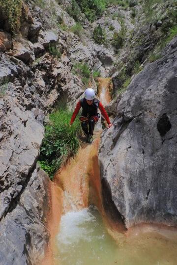 descens de barrancs iniciació Lleida