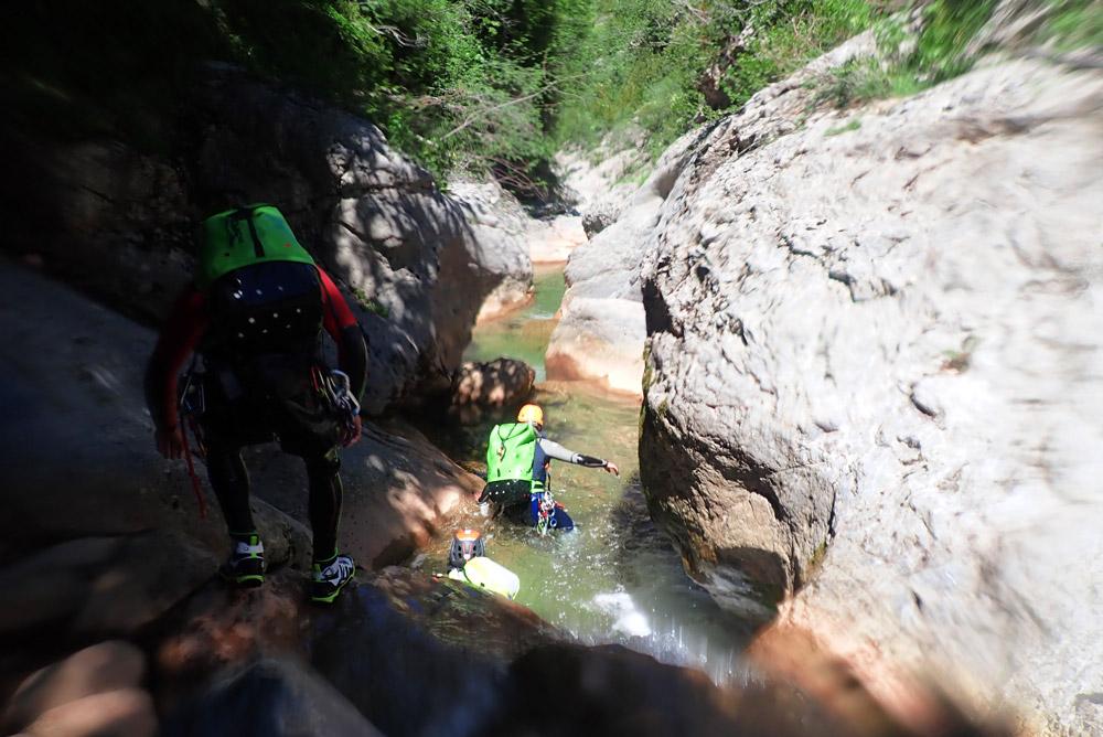 barranquisme al Pirineu Catalunya